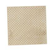 Papieren servetten - Polka Dot - Goud folie (20 stuks)
