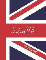 I Love UK - Notebook