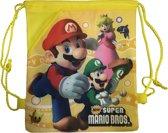 New Super Mario Gymtas / Rugzak (geel)
