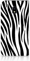 Samsung Galaxy J3 2017 Standcase Hoesje Design Zebra