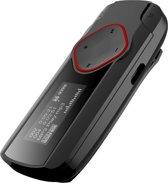 Difrnce MP875 MP3 speler met radio - 4GB - Zwart/rood
