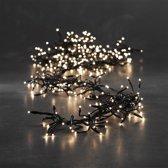Cluster kerstverlichting Wit 576 LED lampjes
