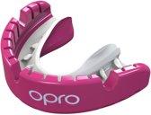 Opro Sportbitje Self-fit Gen4 Gold Braces Unisex Roze/wit