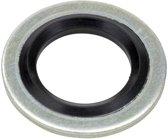 Onderlegring - Bonded Seal - 6,6x11x1 - Staal / NBR - Zelf centrerend
