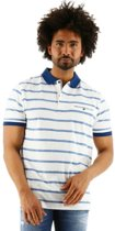 Chris Cayne regular fit korte mouw poloshirt wit., maat XXL