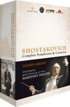 Shostakovich Cycle Box - Complete Symphonies & Concertos (Blu-Ray Box)