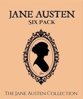 Jane Austen Six Pack (Illustrated)