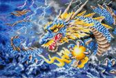 Diamond Dotz ® painting Mythical Dragon (68x47 cm) - Diamond Painting