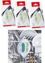 Miele vaatwasmachine verfrisser set van 3 stuks