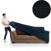 Milos meubelhoezen - bankhoes 180-240cm - Zwart - Verkrijgbaar in verschillende kleuren!