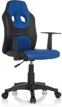 hjh office Kiddy Racer AL - Bureaustoel - Kinder - Zwart / blauw