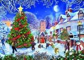 Gibsons The VIllage Christmas Tree - 1000 stukjes