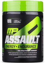 Assault Energy + Strength Pre-Workout Green Apple  (333 g) - MusclePharm