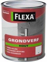 Flexa Grondverf voor hout - Wit 0,75 Ltr