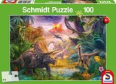 The Valley of the Dinosaurs, 100 pcs - Kinderpuzzel