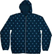 Dedicated Windbreaker Dots - Navy