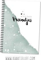 Kaartjelief Vriendenboek A5 | Invulboek