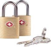 Travelon TSA Slotjes - Reizen naar de VS -2 stuks - 2 sleutels per slotje