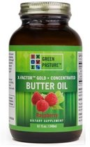 Green Pasture X-Factor Concentrated Butter Oil - Pecannoot 240 ml