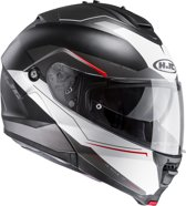 HJC Systeemhelm IS-Max II Magma Black/White-S