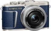 Olympus E-PL9 Pancake Zoom Kit blu/slv (E-PL9 blue + EZ-M1442EZ silver - incl. Charger & Battery)