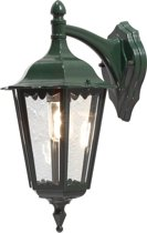 Konstsmide - Firenze wandlamp neerwaarts 48cm 230V E27 - groen