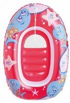 Zwembad boot kinderen klein | opblaasbaar 102 x 69 cm| roze | peuter | baby | bootje | | bootjes