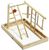 Flamingo vogel speelgoed Playpoint - hout - 35x25x27 cm