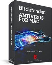 Bitdefender for Mac - 2 jaar, 1 computers