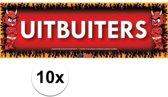 10x Sticky Devil Uitbuiters grappige teksen stickers