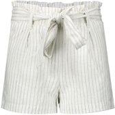 Geisha Meisjes korte broeken Geisha  Shorts striped with strap wit 170