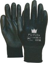 *** SET à 12 paar *** M-Safe Werkhandschoen PU Flex Zwart maat 9 - L