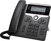 Cisco CP 7841 IP - VoIP telefoon - Antwoordapparaat - Zwart