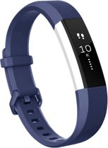 YONO Siliconen bandje - Fitbit Alta (HR) - Donkerblauw - Small