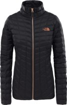The North Face Thermoball Full Zip Jas Dames  - zwart - Maat S
