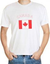 Canada t-shirt met vlag 2xl