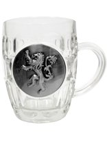 Game of Thrones - Glas met metallic logo - Lannister