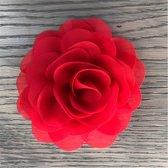 Leuke bloem (roos) op Clip - Rood