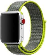 Sport Loop Bandje voor Apple Watch 38mm / 40mm - KELERINO. - Groen