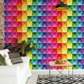 Fotobehang 3D Colourful Design | VEM - 104cm x 70.5cm | 130gr/m2 Vlies