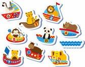 Nûby - Badspeelgoed - Set baddieren van schuimrubber - 12m+