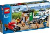 LEGO City Politie Unit en Boeven verstopplaats - 60048