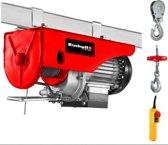 EINHELL Kabeltakel TC-EH 250 - 500 W - Draagkracht: 125/250 kg - Hijshoogte: 11,5/5,7 m