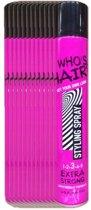 Haarspray Who's Hair - 12x400ml - voordeelverpakking