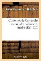 Curiosit s de Carnavalet d'Apr s Des Documents In dits