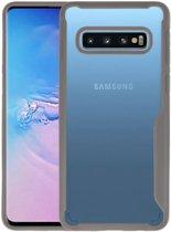 Focus Transparant Hard Cases Samsung Galaxy S10 Grijs