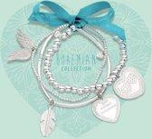 Heart To Get Bohemian Armband set Armband BOSET3 (Lengte: 16-18 cm)