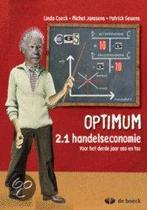 Optimum 2.1 - Handelseconomie - leerwerkboek