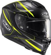 HJC Integraalhelm RPHA-70 Dipol Black/Fluo Yellow-XXS