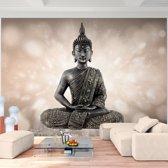 Foto Vliesbehang Muurposter Boeddha D 308x220 cm